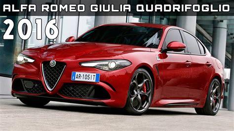 Alfa Romeo Price by 2016 Alfa Romeo Giulia Quadrifoglio Review Rendered Price