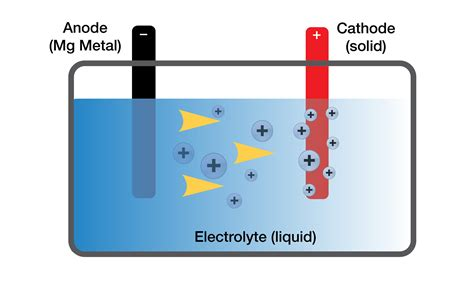 diagram of battery cell magnesium may provide key to smaller denser batteries