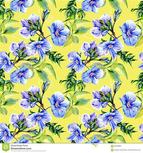 flower pattern names wildflower anemone flower pattern in a watercolor style