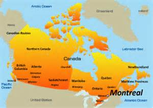 montreal on canada map montreal on a map of canada derietlandenexposities