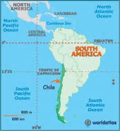 Chile On World Map by Chile Map Geography Of Chile Map Of Chile Worldatlas Com