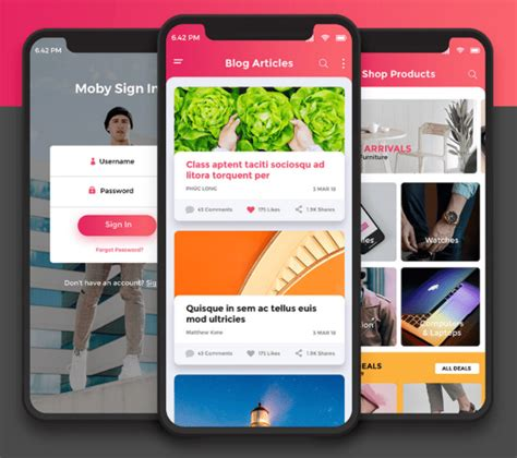 x design app 80 mobile ui freebies for app designers updated for 2018