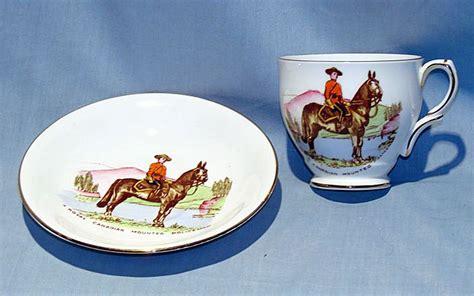 china doll 2898 royal canadian mounted policeman bone china cup