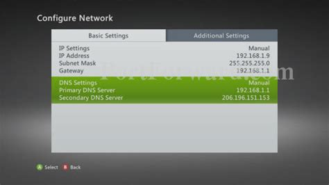 Xbox Ip Address Finder How To Set Up A Static Ip Address On Your Xbox 360