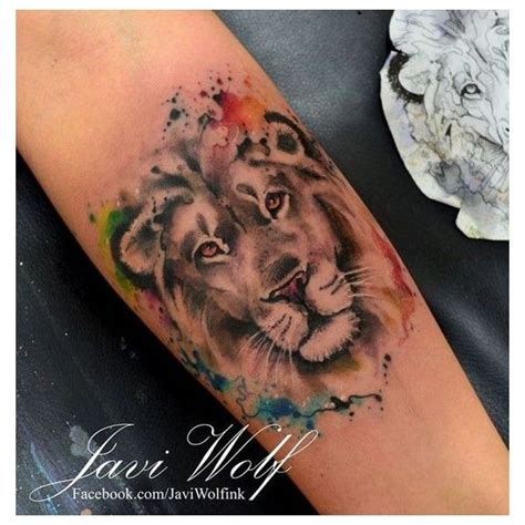 cute leo tattoo designs watercolor 50 designs and ideas for