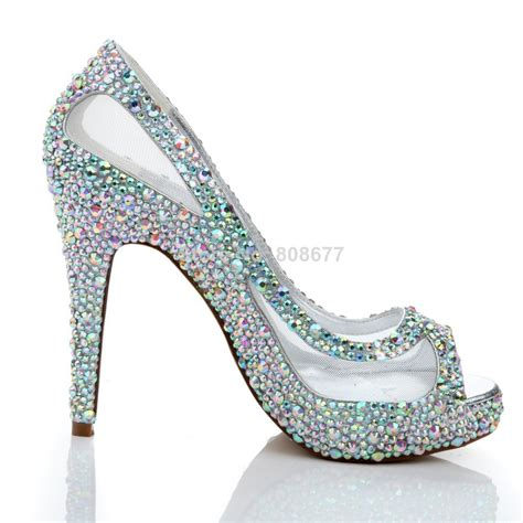 discounted high heels discount high heels wedding dress shoes 2014 peep toe