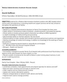 Resume Objective For Administrative Assistant Administrative Assistant Resume Objective 6 Exles In Word Pdf