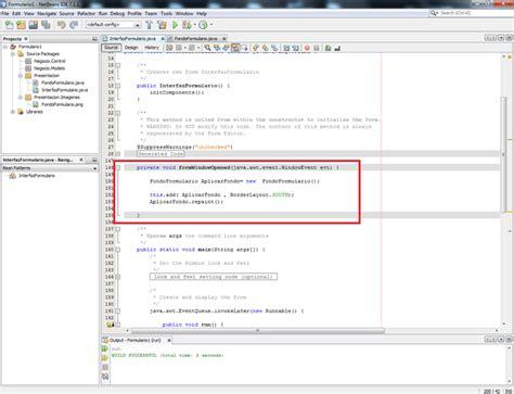 tutorial java y netbeans tutorial crear un formulario de datos en netbeans java