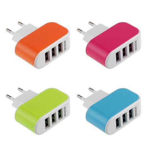 usb port wall charger aliexpress buy original eu 3 1a 3 usb port wall