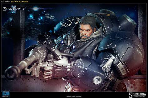 starcraft 2 jim raynor blizzplanet sideshow starcraft ii raynor terran space