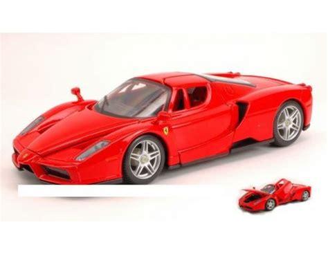 Enzo 124 Maisto bburago bu26006r enzo 2002 1 24 modellino