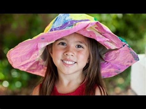 How To Make Paper Hats For Adults - how to make paper hats