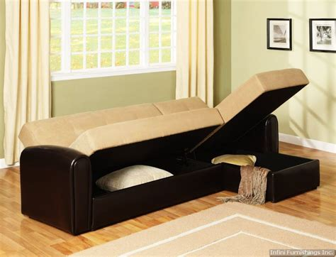 sofa cum bed in chandigarh cozy microfiber sectional sofa bed with storage chaise