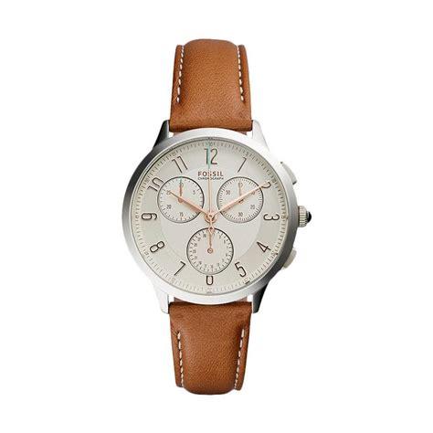 Jam Tangan Fossil Fs014 Brown jual fossil ch3014 jam tangan wanita brown
