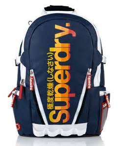 Comfort Jeans Mens California Tarp Backpack In Dark Navy Superdry