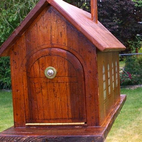 Handmade Wooden Mailboxes - custom wooden mailbox antiques posts and wooden mailbox
