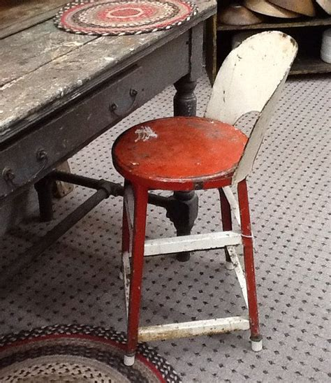 Sundeen Furniture by 1930 And White Stool Vintage Metal Chair Antique