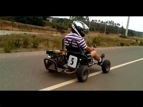 Motor Gokart 200 Cc Mesin 4 Tak amazing go kart karting buggy 200cc honda engine 4 stroke speed test drive 卡丁车