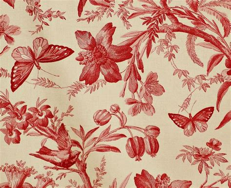 toile pattern history red and white toile and now for crimson blood red