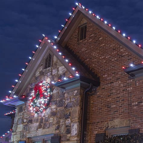 how to hang christmas lights outside on gutters