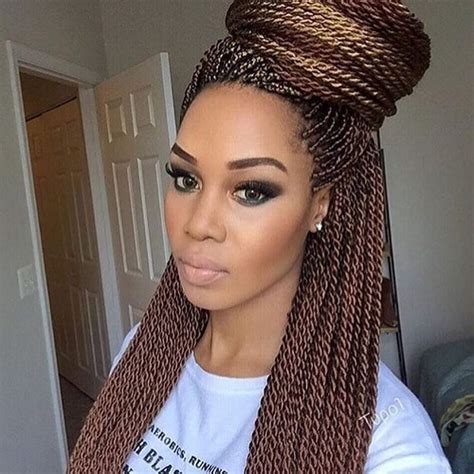 senegalese twist with brown in the front and black in the back 50 sensational senegalese twist styling ideas hair