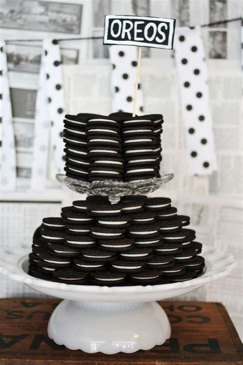 black and white bridal shower centerpiece ideas monochrome baby shower black and white ideas