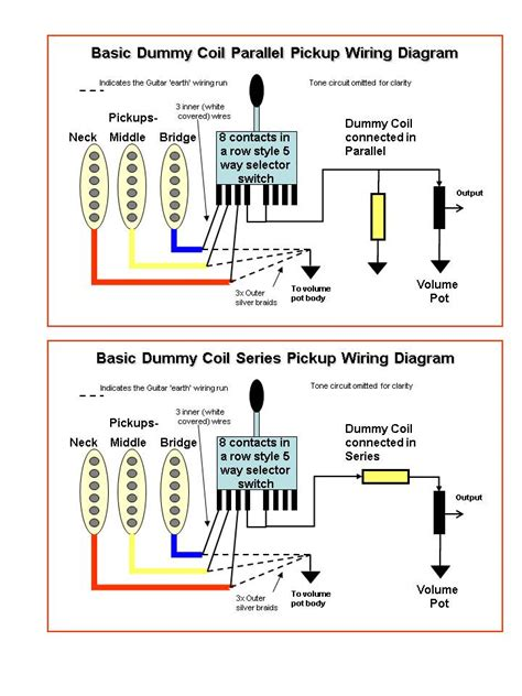 3 single coil wiring diagram wiring diagrams