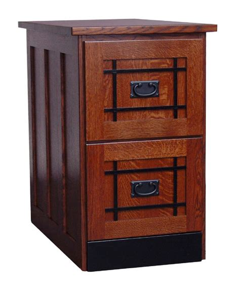 Two Door File Cabinet Amish Mission Two Drawer File Cabinet