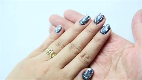 easy nail art wikihow how to do galaxy nail art with easy videos wikihow