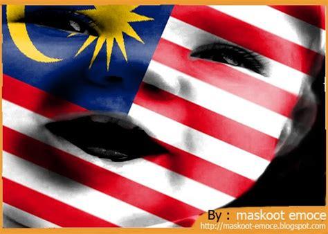 peminat cilik bola sepak malaysia maskoot emoce