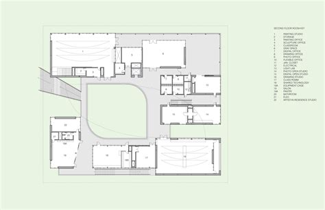art studio floor plans gallery of pomona college studio art hall why 37