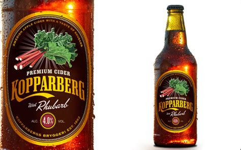 kopparberg launches rhubarb flavour cider