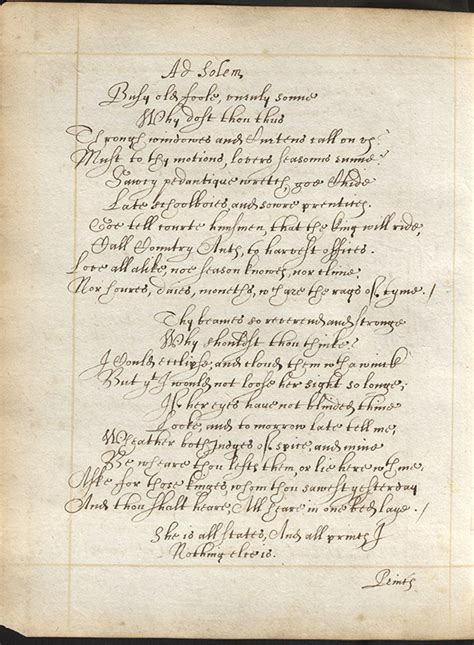 The Sun Rising Donne Essay by Manuscript Version Of Donne S The Sun Rising Principles Of Literary Study Poetry