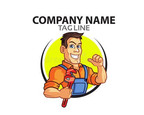 clipart idraulico idraulico logo illustrazione vettoriale illustrazione di