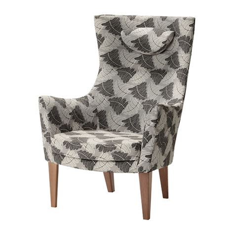 Stockholm High Back Armchair by Stockholm High Back Armchair Mosta Grey Ikea