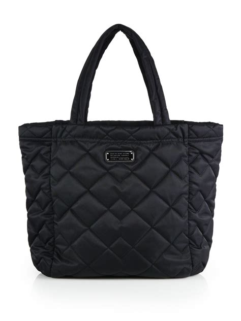 marc by marc crosby quilted tote in black lyst