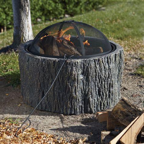 Deals On Firepits Tree Stump Pit Www Kotulas Free Shipping