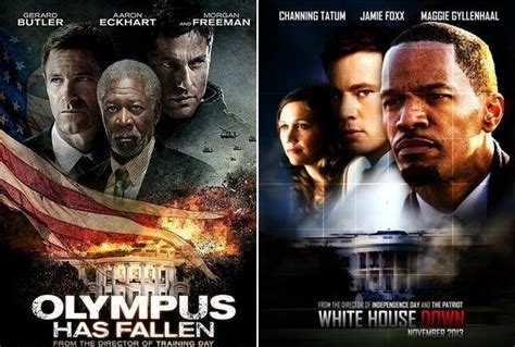 olympus has fallen film box office olympus has fallen vs white house down and the