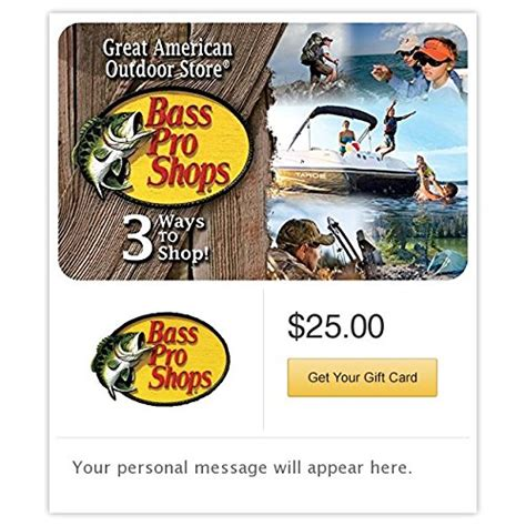 Bass Pro Shop Gift Card Locations - bass pro shops 1 bassproshops standard bass pro shops gift cards e mail delivery for