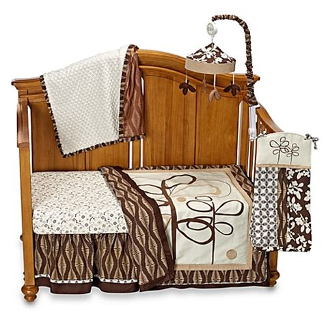 cocalo bedding set cocalo 174 pewter 4 piece crib bedding set and accessories buybuy baby