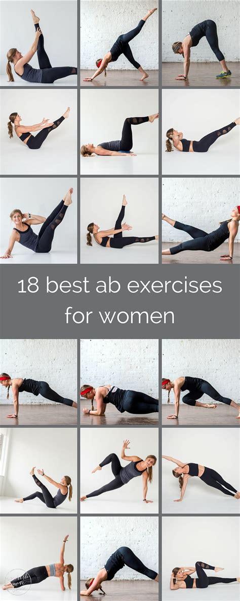 ab exercises  women nourish move love