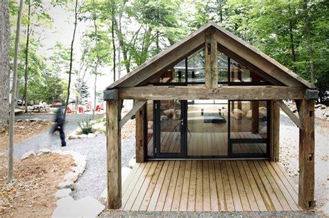 Bunkie Cabin by Bldg Workshop 608 Design Build Prefab Bunkie Retreat In Canada