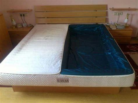 wasserbett matratze 90x200 wasserbett 180x200 mit 2 kammern und einer matratze