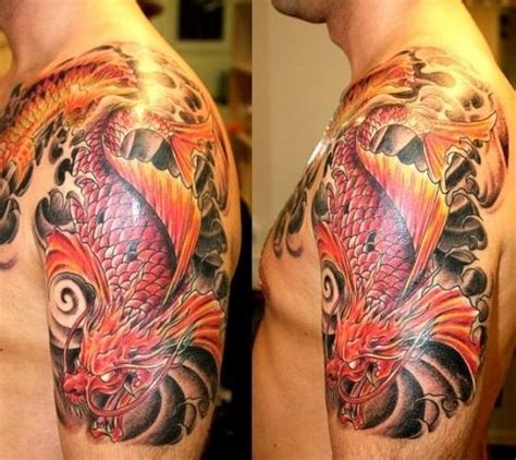 japanese dragon tattoo meaning for men best 20 koi ideas on koi
