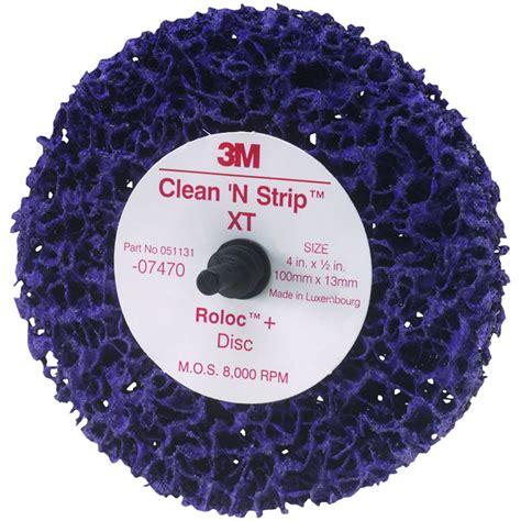 3m Scotch Brite Clean And Las Disc 4 In X 58 3m 07470 scotch brite roloc clean and xt disc