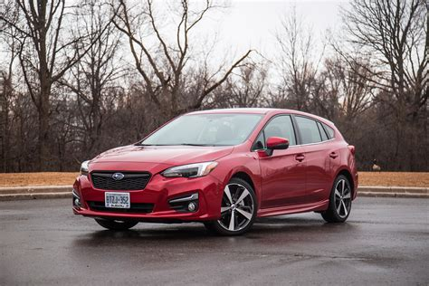 subaru impreza sport review 2017 subaru impreza sport tech canadian auto review