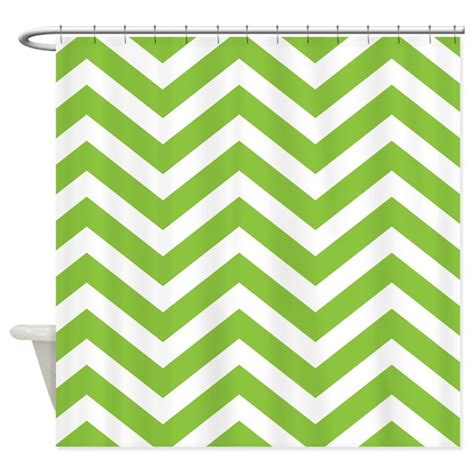 green and white chevron curtains green chevron stripes shower curtain by chevroncitystripes