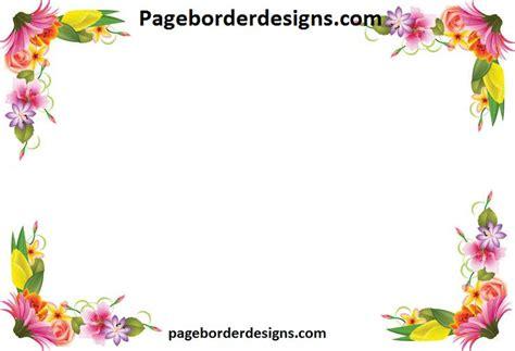 border design flower yellow yellow and pink flowers border design 2016 sadiakomal