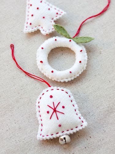 templates for felt christmas decorations 70 diy felt christmas tree ornaments shelterness
