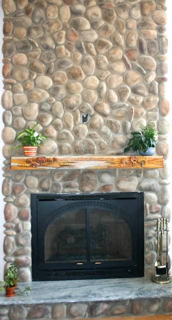 rock fireplace pictures river rock fireplace pictures